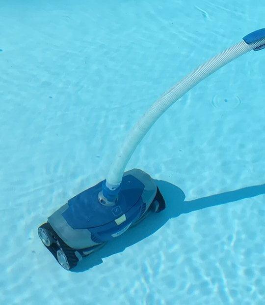 Limpia fondos para piscinas en eurocasa