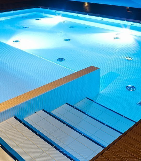 Iluminación Led para piscinas