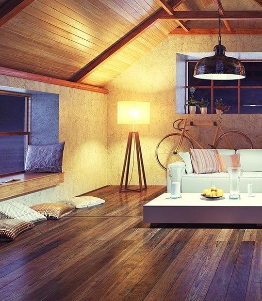 Tarima flotante de madera noble: encuéntrala en Eurocasa