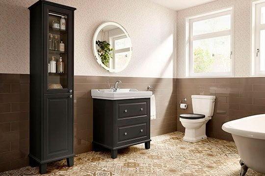 Elige los Muebles de baño con patas en Eurocasa Alicante