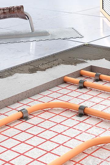 Instalación de suelo Radiante en Eurocasa
