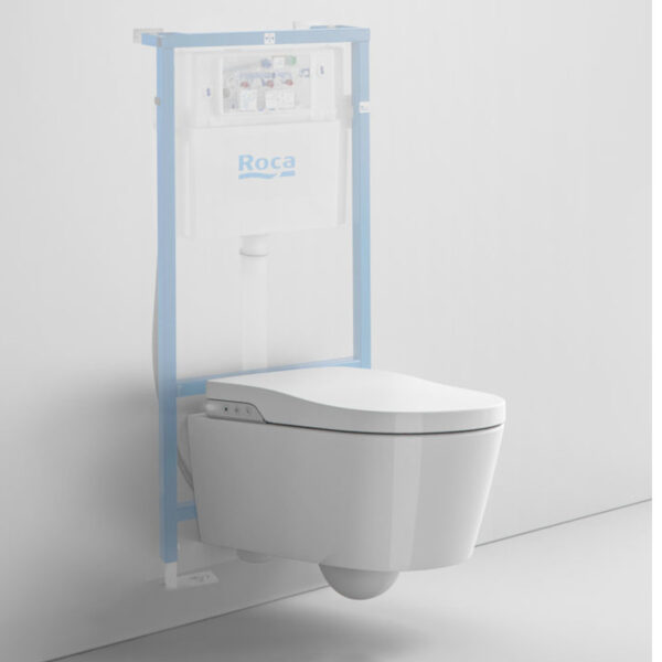 Inodoro Suspendido In-Wash Inspira Smart toilet | ROCA