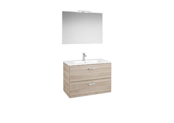 Mueble de baño Victoria Basic 80 cm Abedul | ROCA