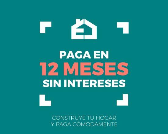 Paga en 12 meses sin intereses: Eurocasa